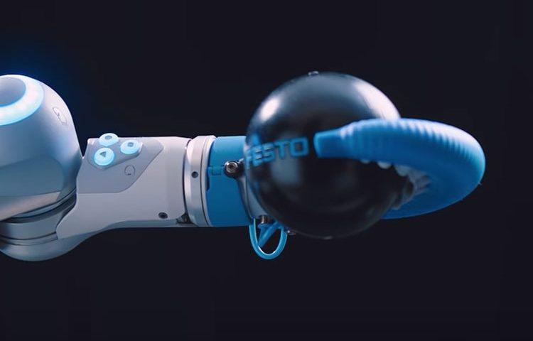 بازوی رباتیک که از هشت پا الهام گرفته شده