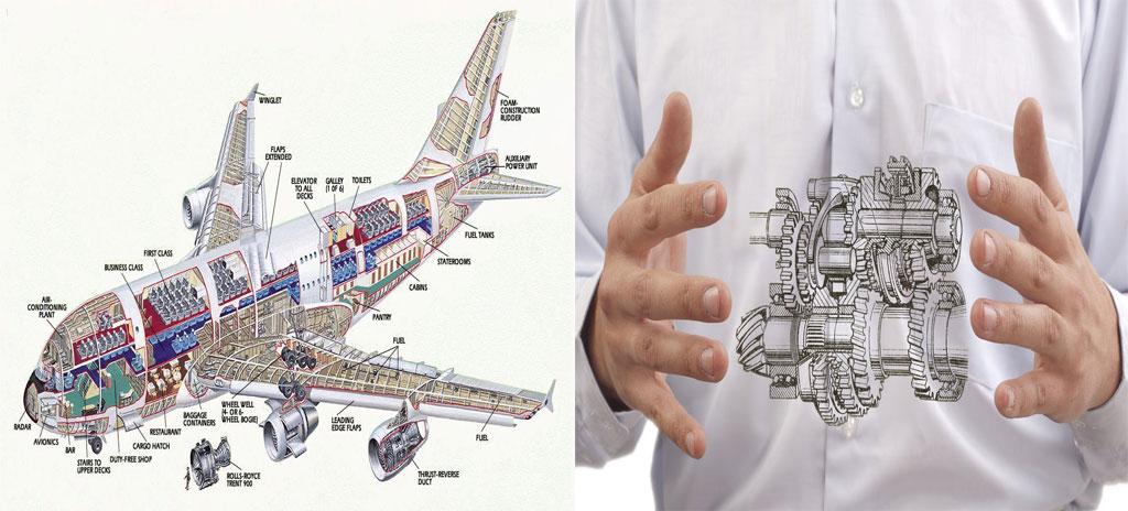 آشنایی با رشته مهندسی هوا فضا