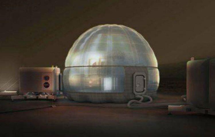 طرح مفهومی خانه های ناسا برای مریخ