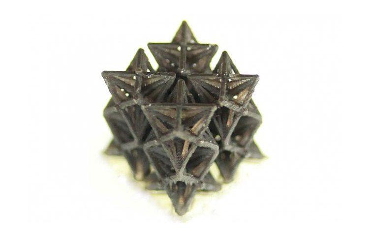 مواد ساخته شده بوسیله پرینت سه بعدی که به وسیله ی گرما کوچک می شوند