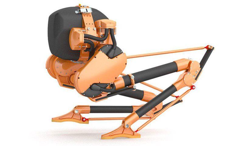 ربات امدادگر کیسی : ربات دو پا که میتواند به راحتی در ناهمواری ها حرکت کند
