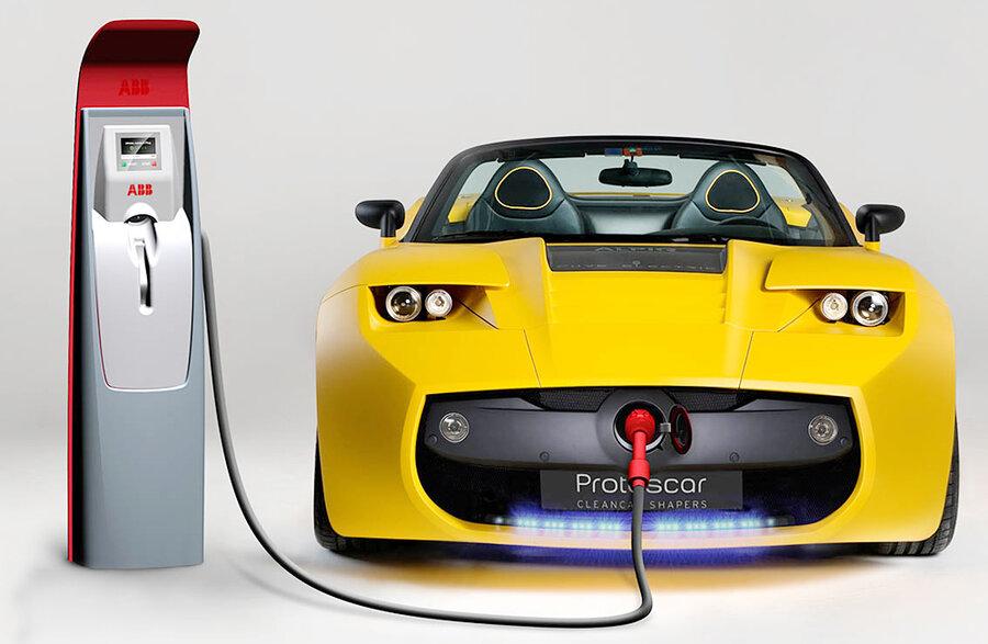 نحوه ی عملکرد خودروهای الکتریکی