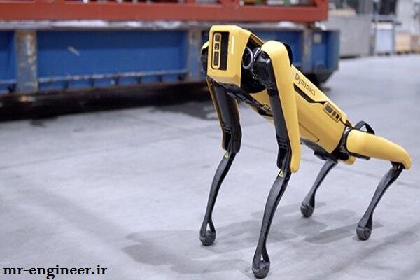 سگ رباتیک در دکل های نفتی
