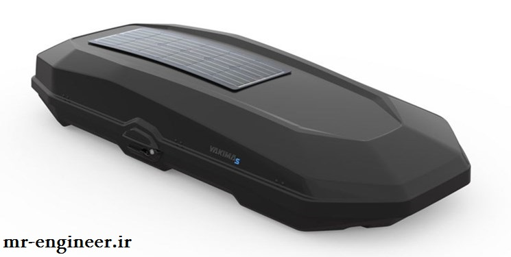 شارژر خورشیدی قابل نصب بر روی سقف خودرو