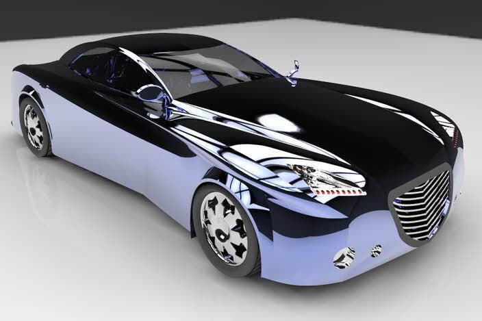 پروژه مدل سازی خودرو