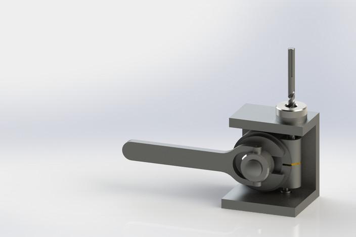 پروژه مدل سازی جیگ سوراخکاری برای قطعات خاص
