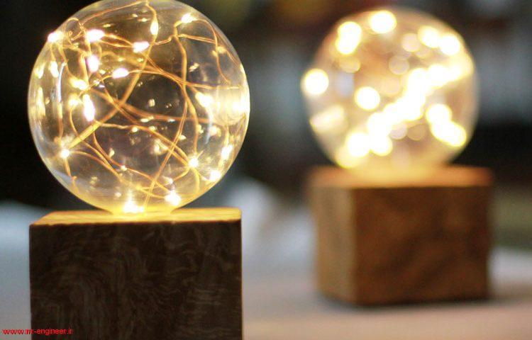 چراغ خواب حبابی | هدیه ای ویژه از طرف یک مهندس مکانیک