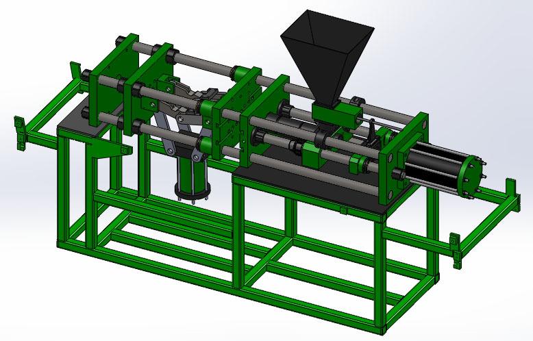 پروژه مدل سازی ماشین تزریق