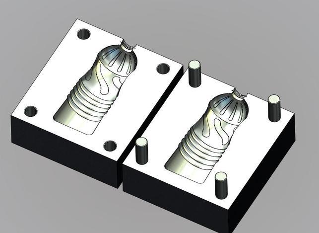 پروژه مدل سازی قالب بادی بطری نوشابه