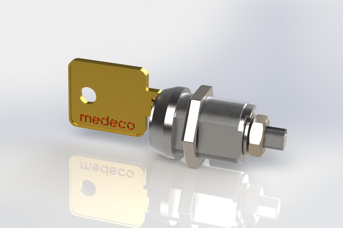 پروژه مدل سازی قفل و کلید