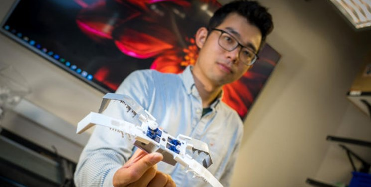 ساخت ربات حشره ای با چاپگر سه بعدی در چند دقیقه