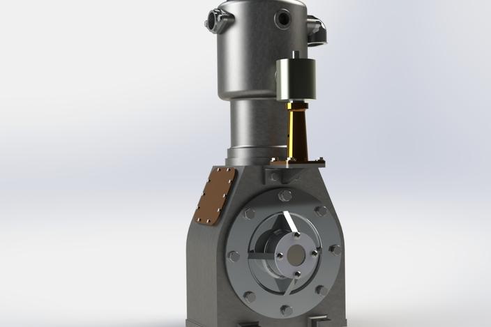 پروژه مدل سازی کمپرسور هوا