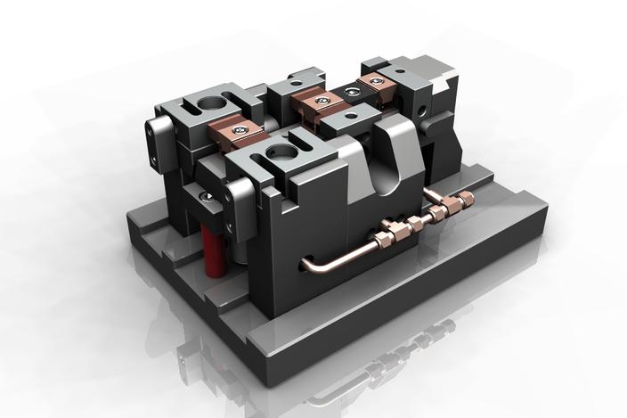 پروژه مدلسازی فیکسچر هیدرولیکی