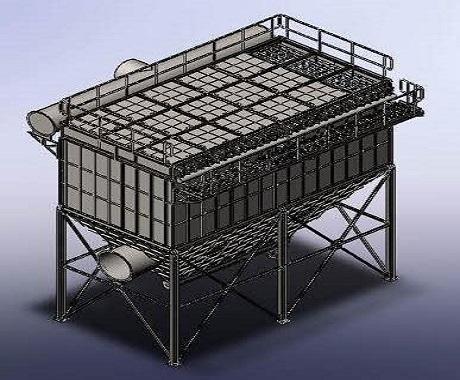 مدلسازی دستگاه تصفیه هوا