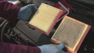 زمان تعویض فیلتر هوا خودرو